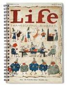 Thanksgiving, 1924 Spiral Notebook