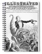 Thanksgiving Parade, 1887 Spiral Notebook