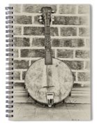 That Old Banjo Mandolin Spiral Notebook