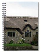 Thatched Church Spiral Notebook