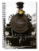 The 482 Durango To Silverton Spiral Notebook