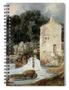 The Abbey Mill - Knaresborough Spiral Notebook