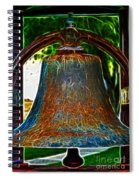 The Academy Bell Fractal Spiral Notebook