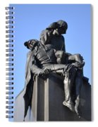The Actor - Shakespere Memorial Spiral Notebook