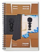 The African Kimono Spiral Notebook