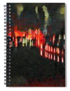 The Air That We Breath  Spiral Notebook