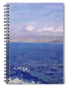 The Albanian Sea Spiral Notebook
