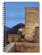 The Alcazaba The Alhambra Spiral Notebook