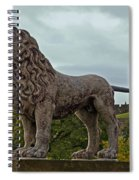 The Alnwick Lion Spiral Notebook