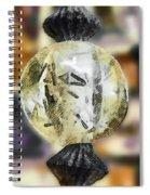 The Alphabet Ball Spiral Notebook