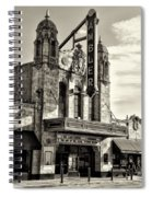 The Ambler Theater In Sepia Spiral Notebook