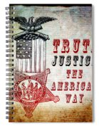 The American Way Spiral Notebook