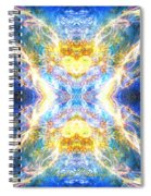 The Angel Of Clearing Spiral Notebook