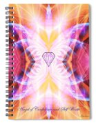 The Angel Of Confidence And Self Worth Spiral Notebook