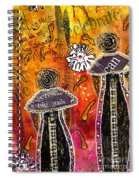 The Angelic Sistahs Spiral Notebook