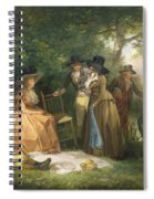 The Angler's Repast  Spiral Notebook