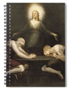 The Appearance Of Christ At Emmaus Spiral Notebook