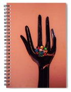 The Arm And Hand Spiral Notebook