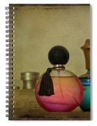 The Art Of Being A Girl Spiral Notebook
