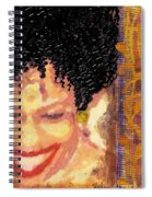 The Artist Who Found Her Smile Spiral Notebook
