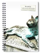 The Asian Civilisations Museum Cat Spiral Notebook