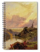 The Avon Gorge At Sunset  Spiral Notebook