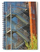 The Back Stairs Spiral Notebook