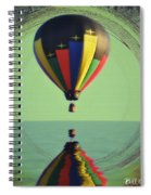 The Balloon And The Sea Spiral Notebook