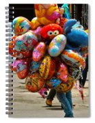 The Balloon Lady Spiral Notebook