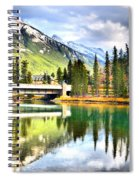 The Banff Bridge Spiral Notebook