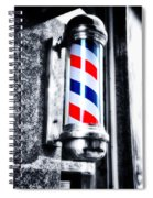 The Barber Pole Spiral Notebook