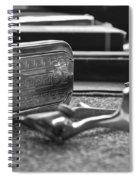 The Barber Shop 1 Bw Spiral Notebook