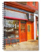The Barber Shop Spiral Notebook