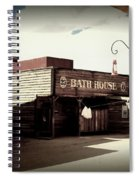 The Bath House In Old Tuscon Arizona Spiral Notebook