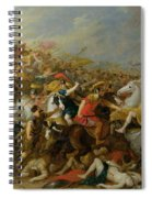 The Battle Between The Amazons And The Greeks Spiral Notebook