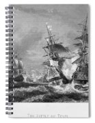 The Battle Of Texel, 1673 Spiral Notebook