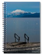 The Beach At Camp Rich. Spiral Notebook