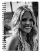 The Beautiful Blonde Spiral Notebook