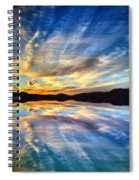 The Beauty Before The Darkness Spiral Notebook