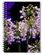 The Beauty Of Flowering Garlic Spiral Notebook