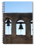 The Bells At The San Juan Capistrano Mission Spiral Notebook