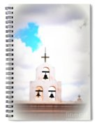 The Belltower In Tuscon Az Spiral Notebook