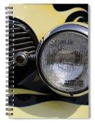 The Big Bad Wolf Spiral Notebook