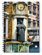 The Black Friar Pub In London Spiral Notebook
