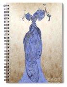The Blue Dress Spiral Notebook