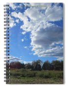 The Blue Element Spiral Notebook
