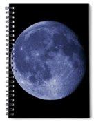 The Blue Moon Spiral Notebook
