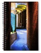 The Blue Path Spiral Notebook