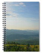 The Blue Ridge Mountains In July 01 Spiral Notebook