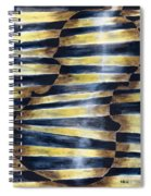 The Blue Violin Spiral Notebook